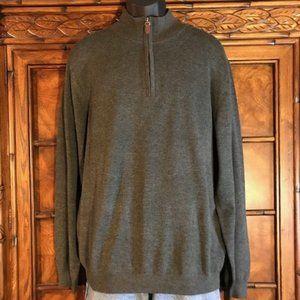 Roundtree & Yorke Half Zip Sweater